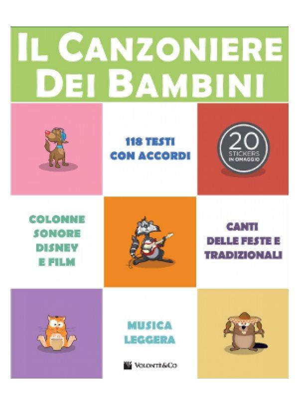 Aa Vv Il Canzoniere Dei Bambini Volonte Mb383